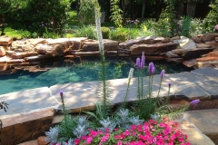 Waterfall & Landscaping