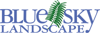 Blue Sky Landscape Logo